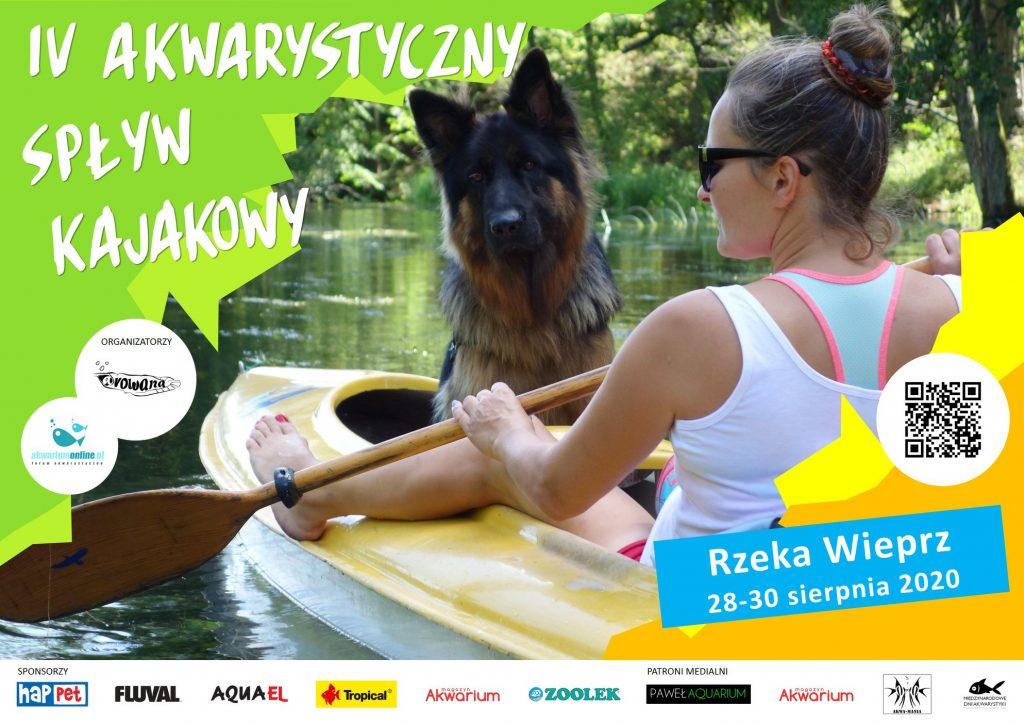 Przed nami IV Akwarystyczny Spływ Kajakowy (Rzeka Wieprz 2020)